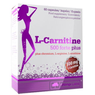Карнитин Olimp L-carnitine 500 forte plus (60 капс)