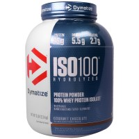 Dymatize Nutrition, ISO 100 Hydrolyzed, 100% Whey Protein Isolate, Gourmet Chocolate, 5 Lbs (2.3 kg)