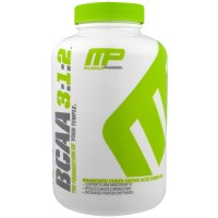 MusclePharm, BCAA 3:1:2, 240 капсул