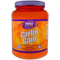 Now Foods, Спорт, Carbo Gain, 2 фунта (907 г)