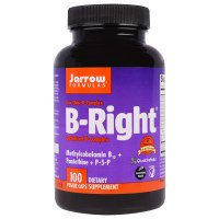 Jarrow Formulas, B-Right, 100 вегетарианских капсул